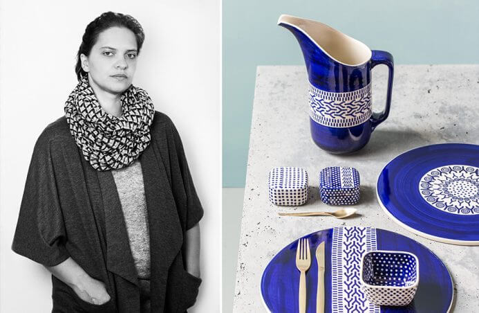 Magda Gazur i jej malowana ceramika