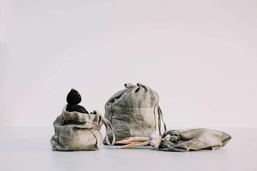 małe tekstylne woreczki od MANUBA