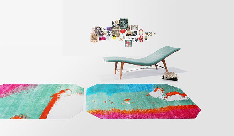 kolorowy dywan ikozetka