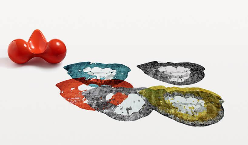 kolorowe dywaniki