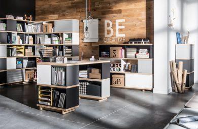 eleganckie nowoczesne biuro Balance od VOX