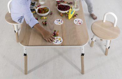 stół i krzesło dla dzieci OX'Y