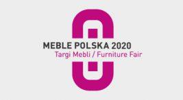 różowy logotyp MEBLE POLSKA 2020