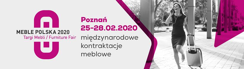 plakat zaproszenie MEBLE POLSKA 2020