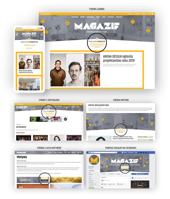 Mecenat nad motywem portalu MAGAZIF