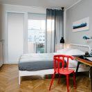 wnętrze mieszkania wGdyni projektu pracowni Plan A