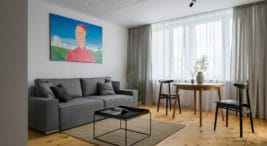 mieszkanie na ursynowie wnaturalnych barwach od 3XEL Architekci