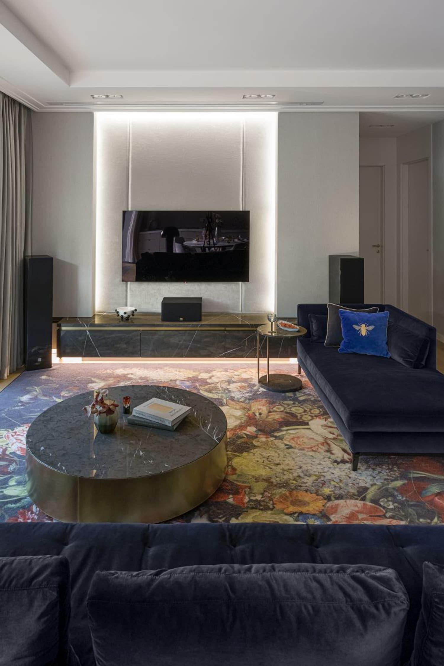 Mieszkanie zwidokiem na zieleń – apartament autorstwa Pracowni Projektowej JIO