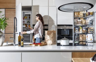 Mistrzowie przechowywania w kuchni: szafki cargo