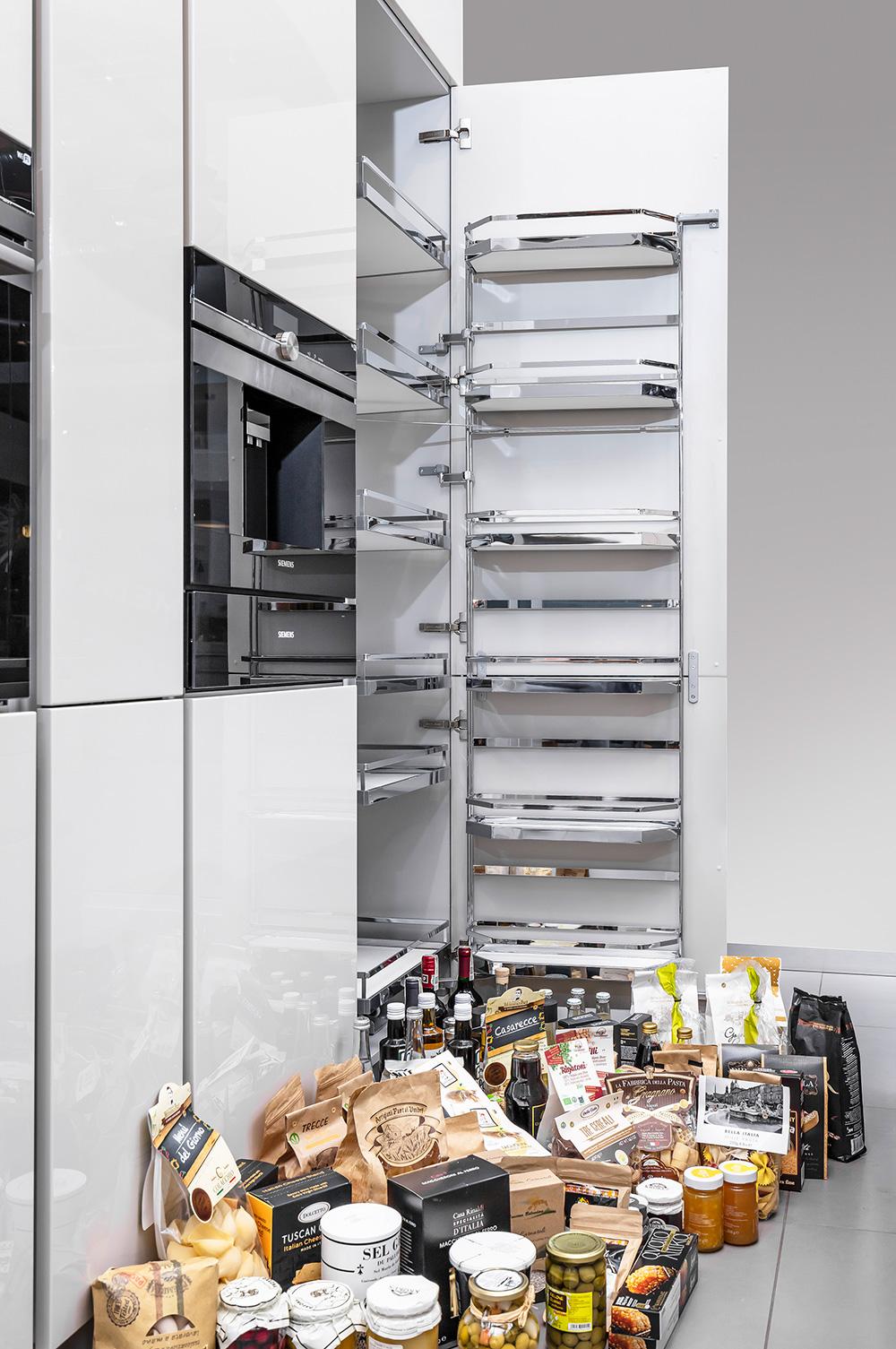 Mistrzowie przechowywania wkuchni: szafki cargo