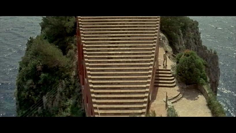 schody na dach willi