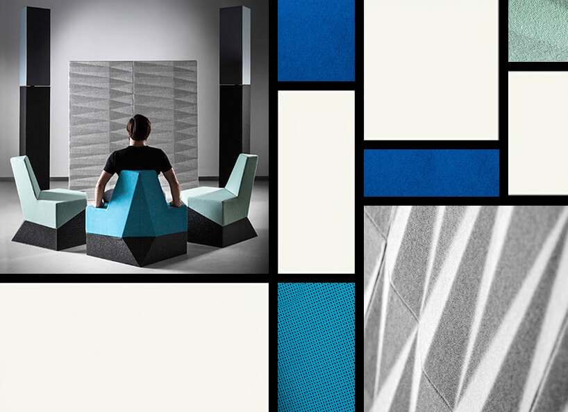 geometryczne siedziska