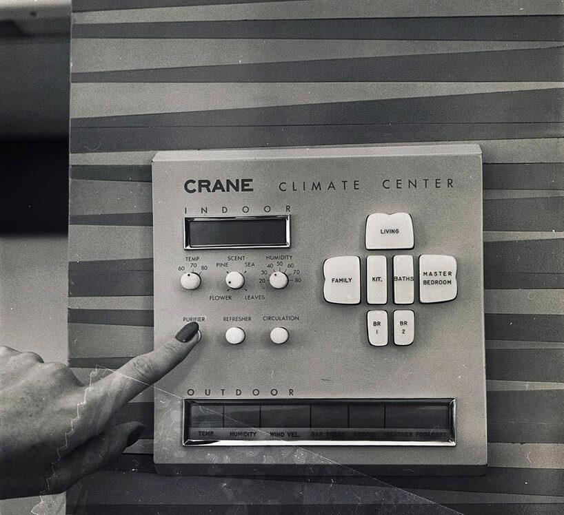 panel sterowania Domem przyszłości Monsanto z1957