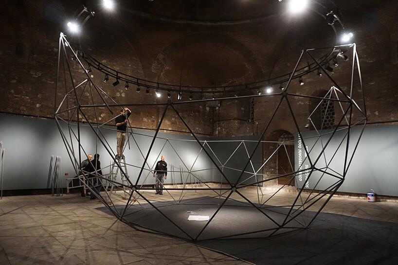 budowa geometrycznej konstrukcji