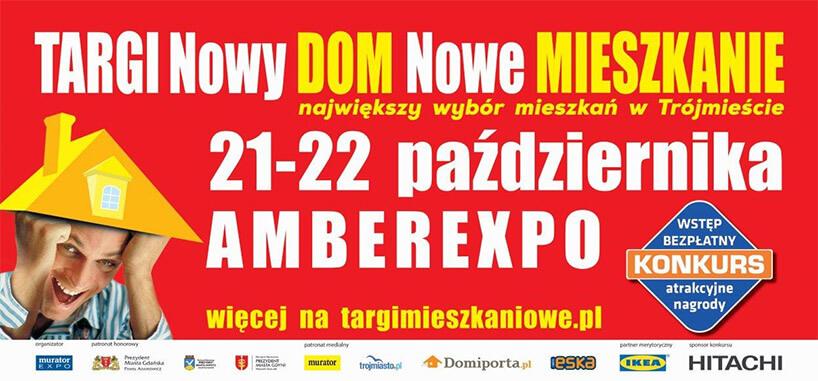 plakat Targi Nowy DOM, Nowe MIESZKANIE