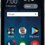 zdjęcie telefonu dla seniora zszarymi przyciskami
