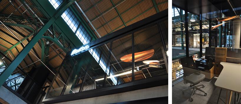 industrialne wnętrze zoświetleniem zPracowni Muszyńska Waszak