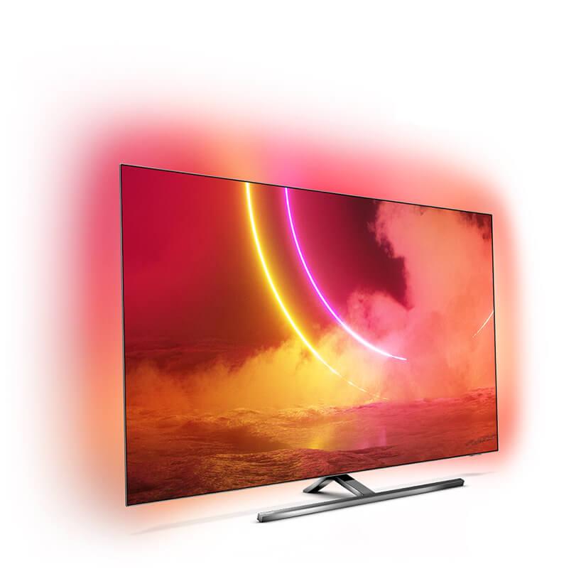 zdjęcie nowoczesnego telewizora Philips OLED855