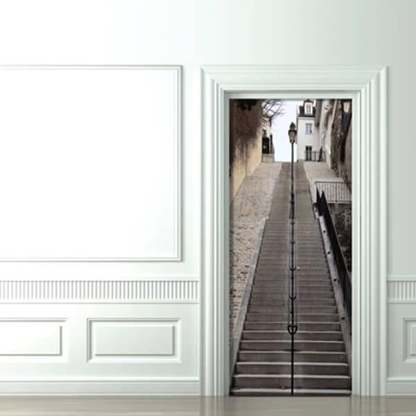 obraz ze schodami