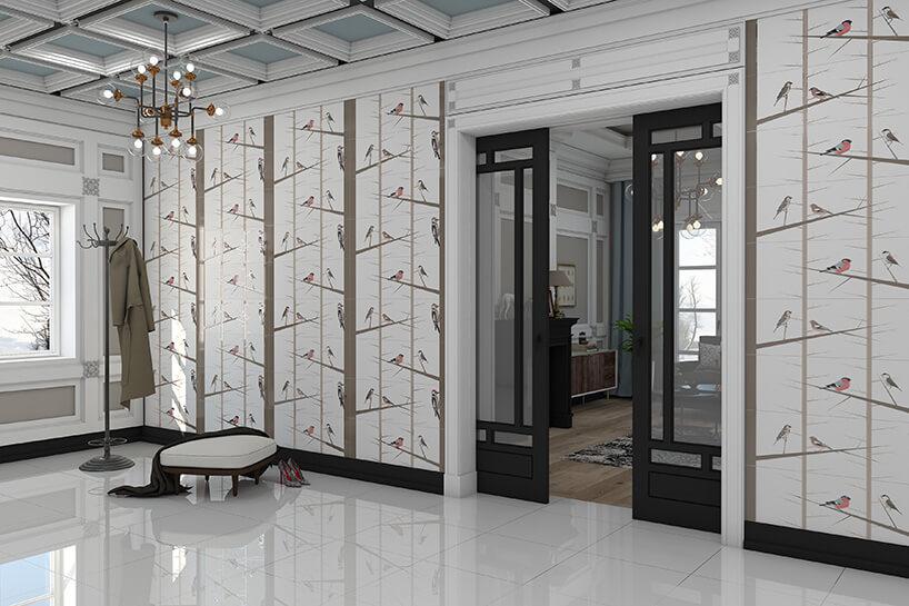 białe pomieszczenie