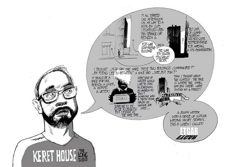 komiks Bartka Warzechy zlogiką najwęższego domu