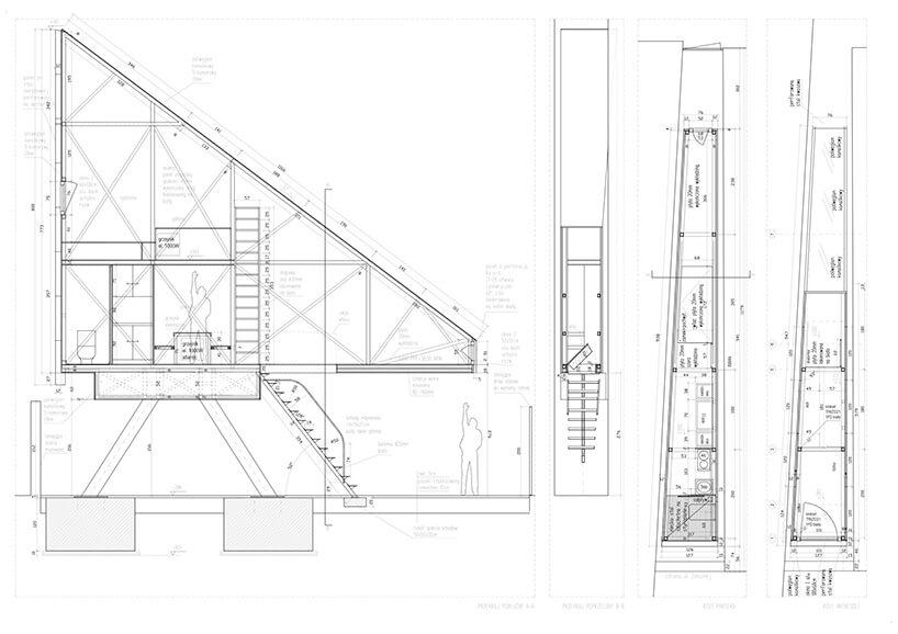 Wybrany projekt najwęższego domu wWarszawie