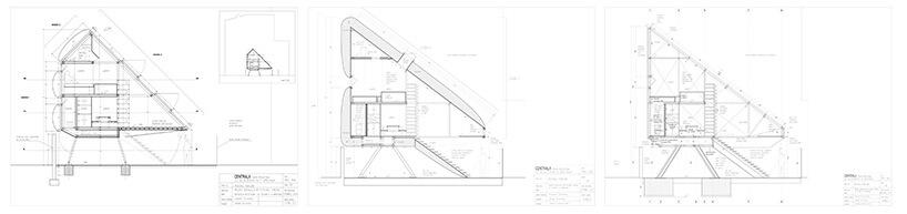 Projekt najwęższego domu wWarszawie 3 koncepcje