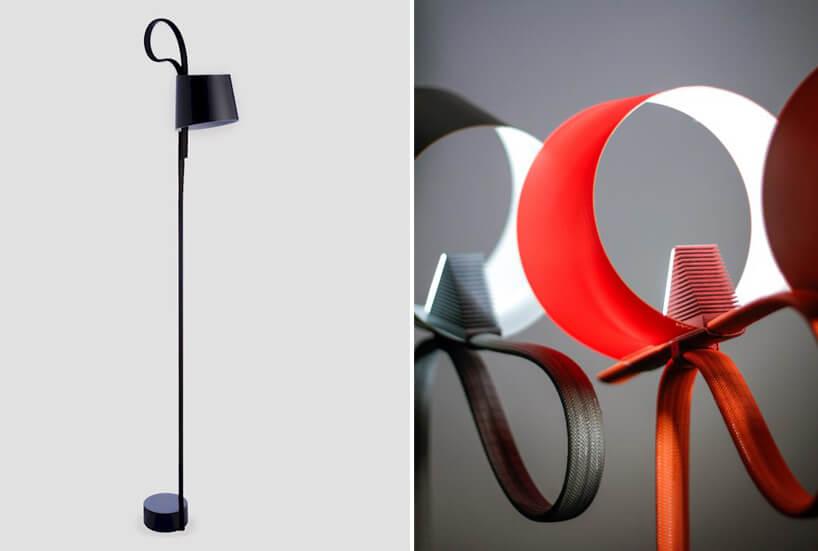 nowoczesne wielokolorowe lampy zmałym kloszem