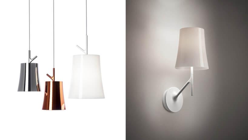 zestawienie lamp wiszących ikinkietową