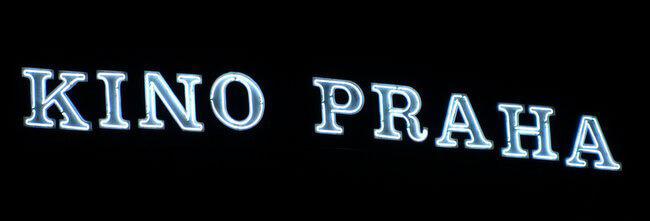 neon kina Praha