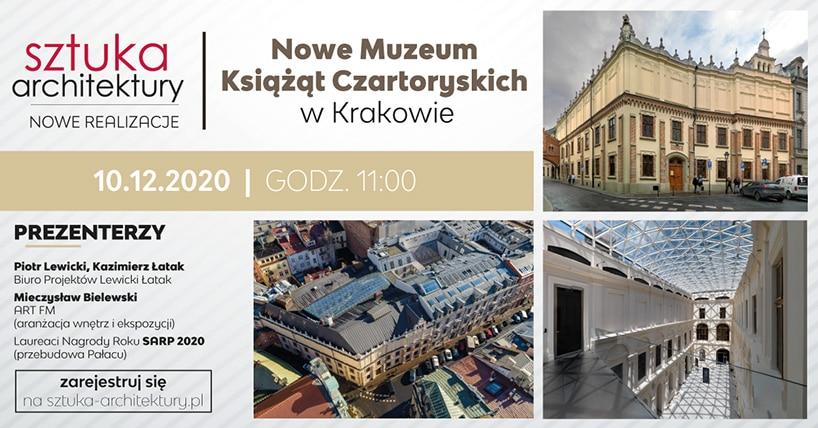 Nowe Muzeum Książąt Czartoryskich wKrakowie