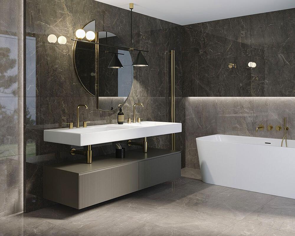 Mekka dla zmysłów: nowoczesna, funkcjonalna ipiękna łazienka wzasięgu ręki