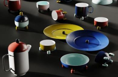 Nowoczesna kolorowa ceramika: nie tylko na stole