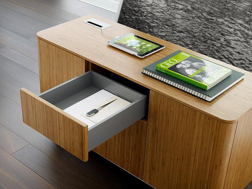 drewniane meble do biura