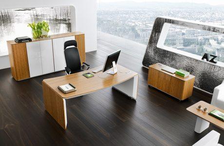 nowoczesne meble eRange w aranżacji w biura