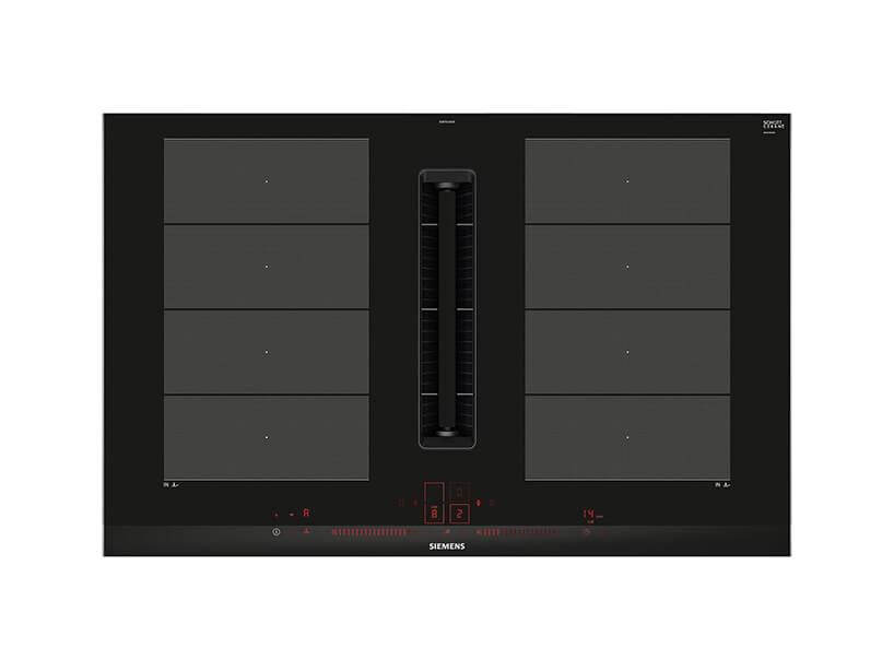 elegancka nowoczesna płyta grzewcza EX875LX67E od Siemens zgóry
