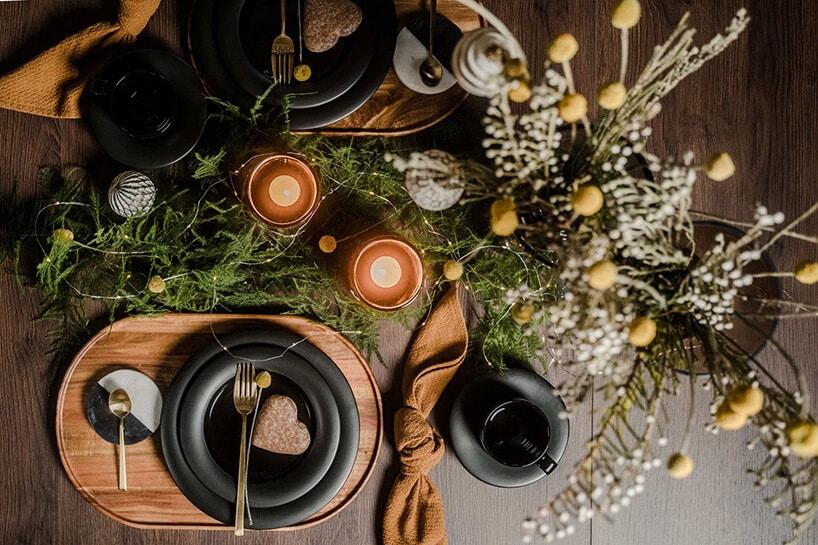 świąteczne ozdoby na stół wigilijny od vox