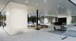 nowoczesny dom House Wide Shut od pracowni Grupa Plus Architekci znagrodą Red Dot