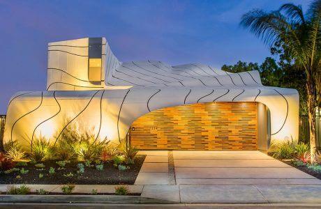 nowoczesny organiczny dom