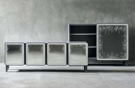 dwie ekskluzywne i nowoczesne szafki od Gervasoni