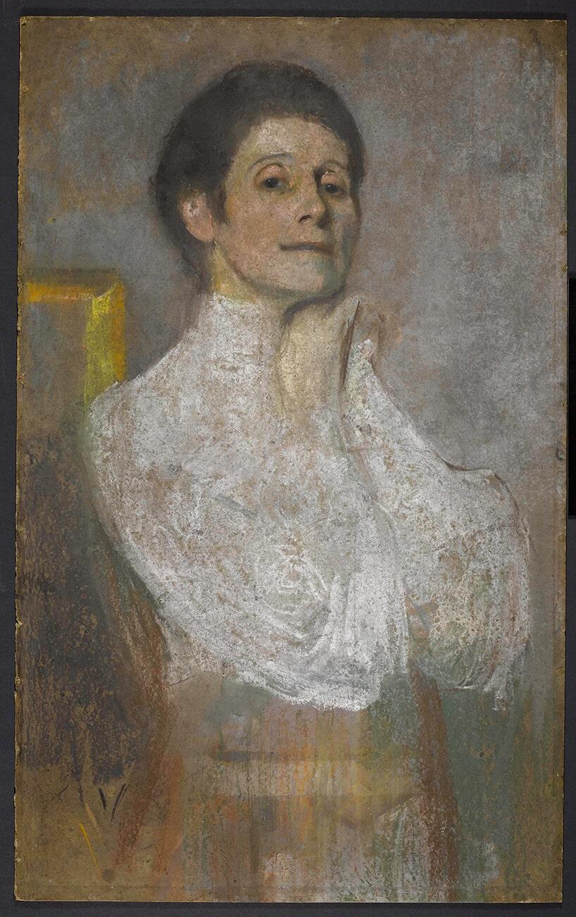 Autoportret Olgi Boznanskiej