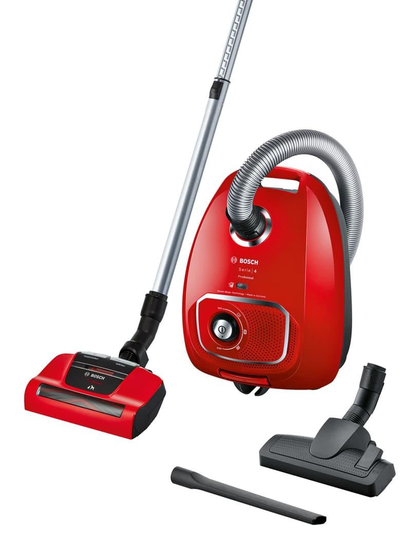 czerwony odkurzacz odkurzacz workowy ProAnimal Bosch
