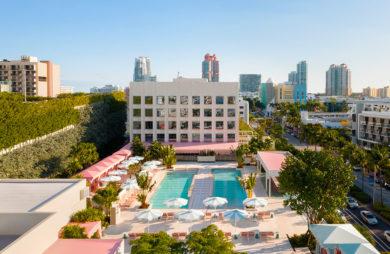 Hotel Pharrella Williamsa - zobacz wnętrze hotelu w Miami Beach