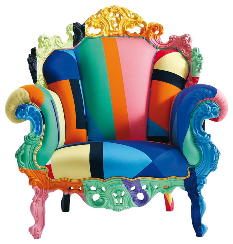 krzesło wróżne kolory