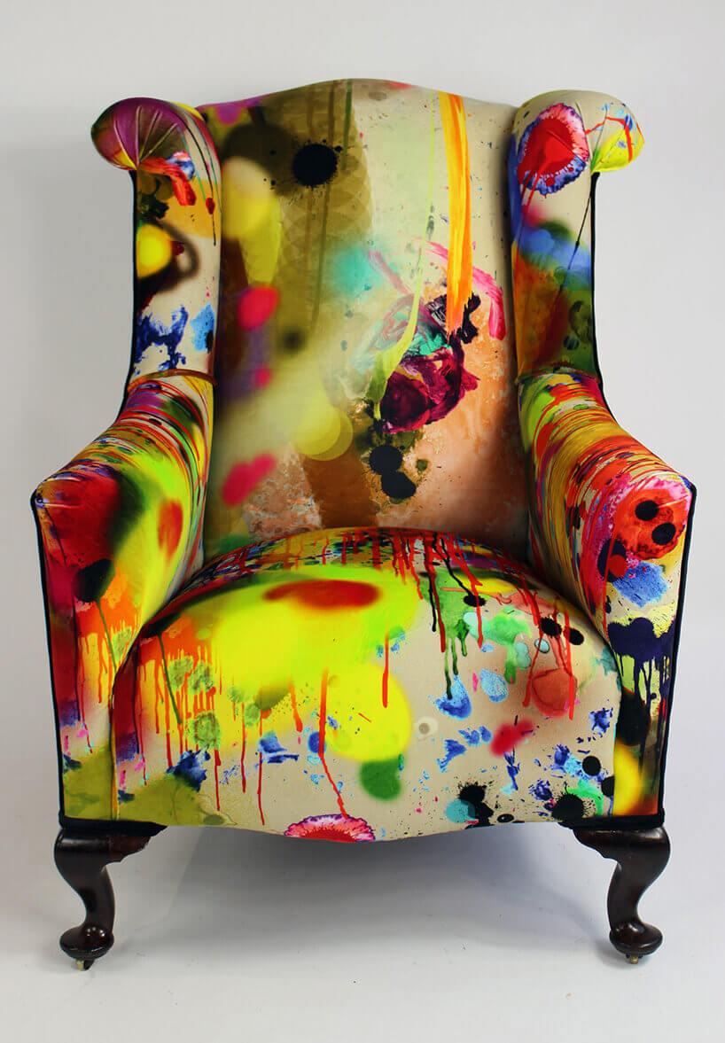 fotel wjaskrawe kolory