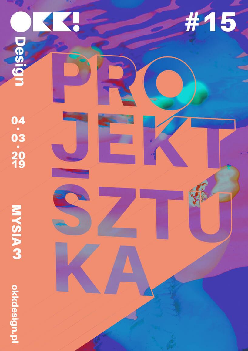 plakat projekt sztuka