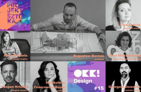 zestawienie gości specjalnych 15. edycji OKK! Design
