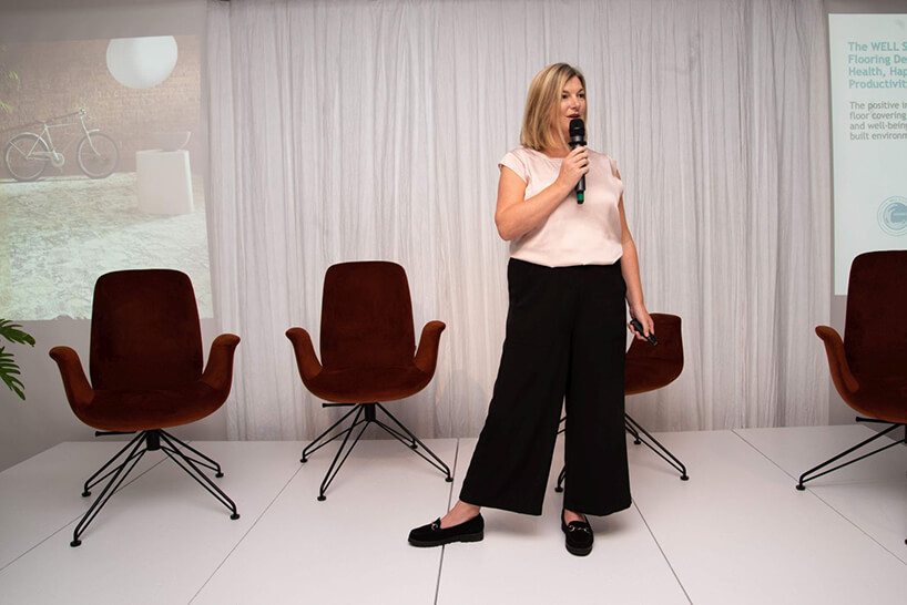 Kate Burnett podczas 16. edycji OKK! Design