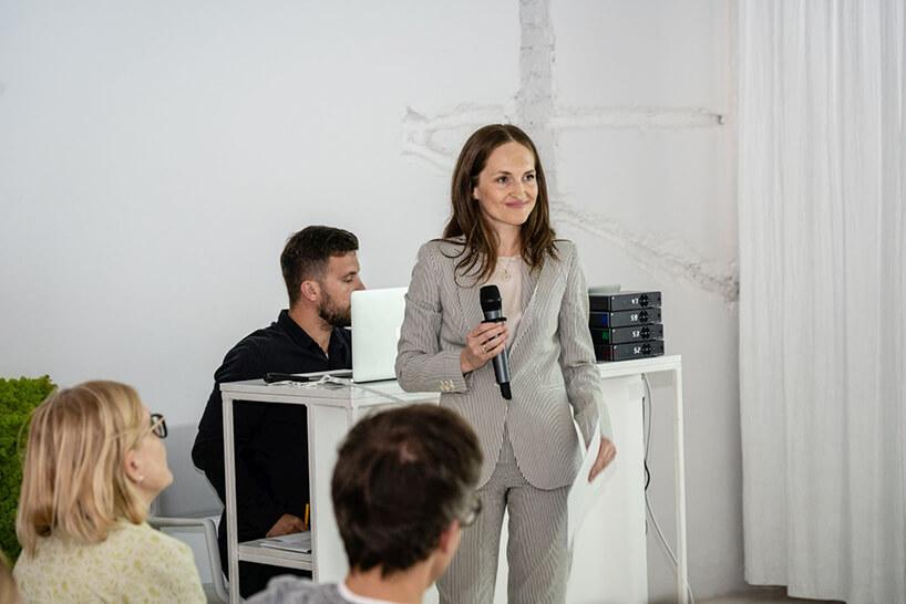 Olga Kisiel-Konopka podczas 16. edycji OKK! Design