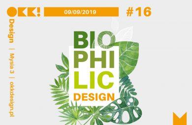 plakat OKK! design 16. edycja Biophilic Design